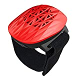 WowHo Portable Bluetooth Speakers, Wireless Bluetooth Speakers Wrist Band 10Hours Playtime and 100Hours Standby Time Waterproof Outdoor Speakers for Running Yoga Race Walking Gym Exercise (Red)