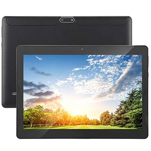 Tableta para niños, 10 pulgadas 1 + 16GB Edición para niños Tableta Octa-Core Android 4.4 Tableta GPS incorporado, 3G / WiFi Pantalla HD Tableta PC para cumpleaños de niños(UE negra)