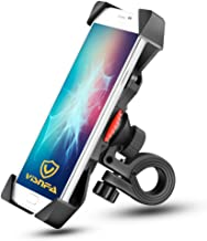 visnfa New Bike Phone Mount Anti Shake and Stable 360° Rotation Bike Accessories for Any Smartphone GPS Other Devices Between 3.5 and 6.5 inches