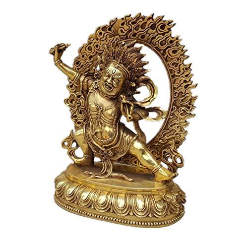 FENGJIAREN Estatuas,Estatuillas,Esculturas,Estatua De Buda Vajrapani Figurilla De Buda Tibet Budista Tibetano De Latón Esculturas Art&Amp;Craft Home Decoración