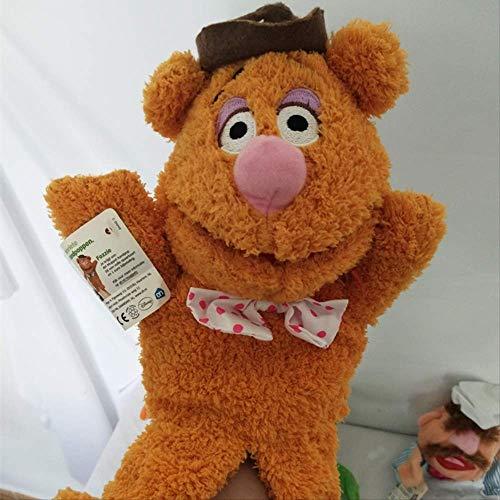 yqs Handpuppe Die Muppets Puppe Kermit Frosch Fozzie Bär Schwedische Köchin Miss Piggy Gonzo Plüsch Gefüllte 28cm Handpuppen Baby Kinder Kinderspielzeug