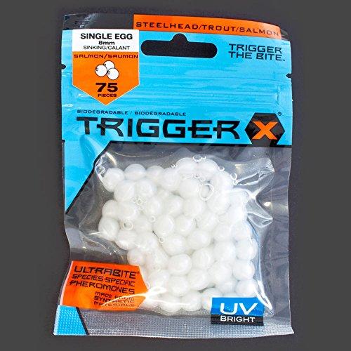 Trigger XSalmon Egg (Lachseier 8mm) UV Milky White
