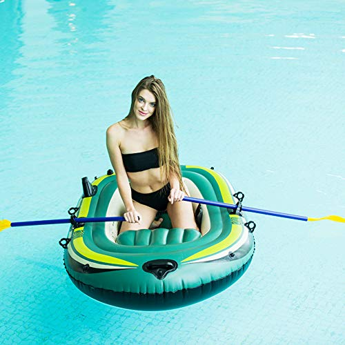 Inflatable Boats for Adults 3 Person Inflatable Rafts for Kids Inflatable Dinghy Raft Boat Set with Pump & Paddle Oars Water Sports,2 person A