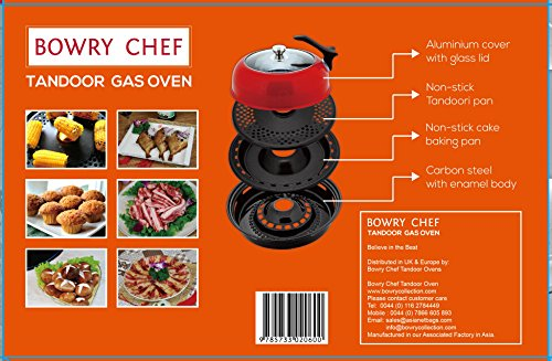 Tandoor Oven Barbeque for Gas Hob (Indoor BBQ) 2