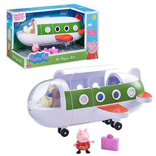 Peppa Pig Air Peppa Jet | Speelset vliegtuig met figuur Peppa & koffer