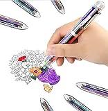 Best Multi Color Pens - SMTTW 4 Pack 0.5mm 6-in-1 Multicolor Ballpoint Pen Review