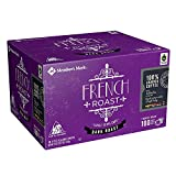Member's Mark French Roast Coffee 100 single-serve cups. A1