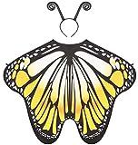 Seawhisper Faschingskostüme Damen Kostüm Damen Halloween Schmetterling Damen Flügel Feenflügel...
