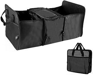 Wakauto Organizador de botas de carro com refrigerador, caixa de armazenamento dobrável para porta-malas de carro Oxford c...