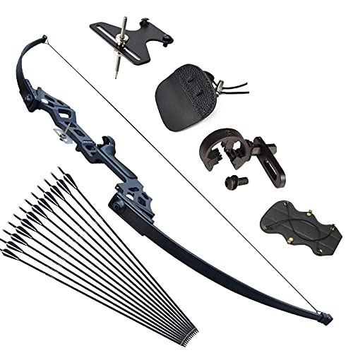 Tongtu Archery Takedown Recurve Bow and Arrows Set for...