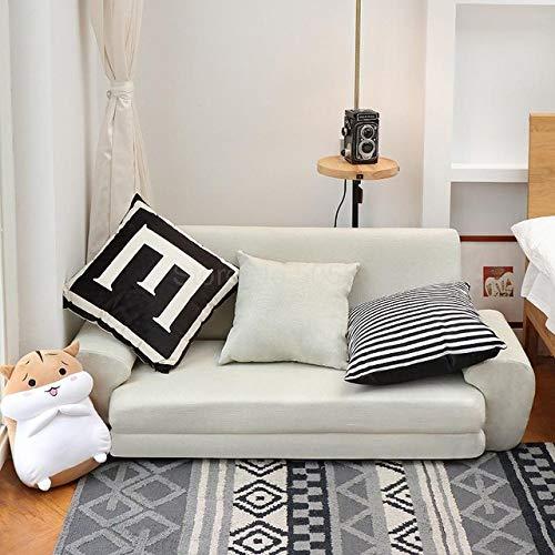 SDFJKO Klappsofa Lazy Sofa Doppel Japanisch Tatami Schönes Mädchen Schlafzimmer Netz Rot Kleines Sofa Kleines Huxing Klapp-Doppelbett, Zweisitz