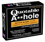 2021 The Quotable A**hole Boxed Daily Calendar