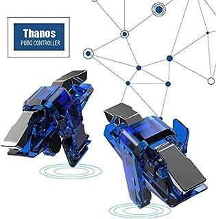 Kmnic Thanos X7 Mobile Pubg Trigger-Pubg Controller Battle Royale Sensitive Shoot and Aim LT019BLG