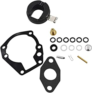 WFLNHB Carb Rebuild Kit fits for Many 2hp/3hp/4hp/5hp Johnson Evinrude 398532 Sierra 18-7043 Carburetors with Float
