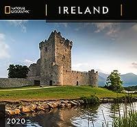 Zebra Publishing、2021年アイルランドナショナルジオグラフィック壁掛けカレンダー2020