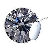 Diamond - Round Mousepad