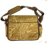 Meroncourt UNCHARTED 4 A Thief's End Treasure Map Messenger Bag, Brown Umhängetasche, 38 cm, Braun (Brown)