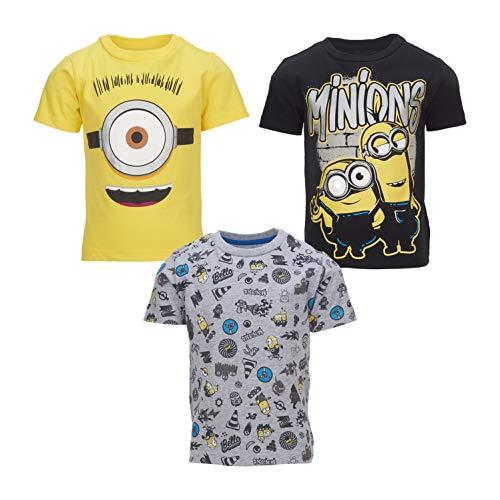 3pcs Minions Boys Cute T-Shirts