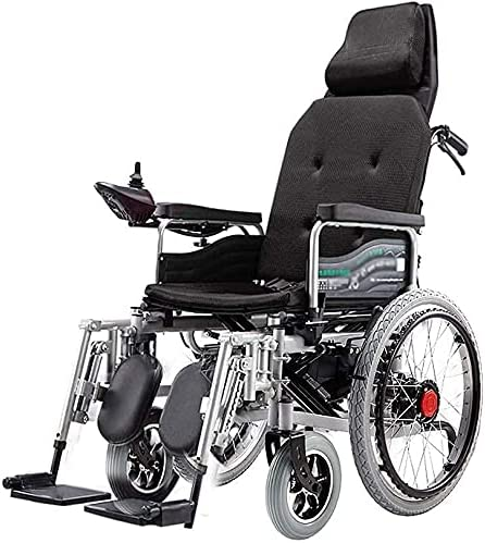 Electric Wheelchair with Headrest Adjust Foldable Lightweight New products world's highest quality popular half