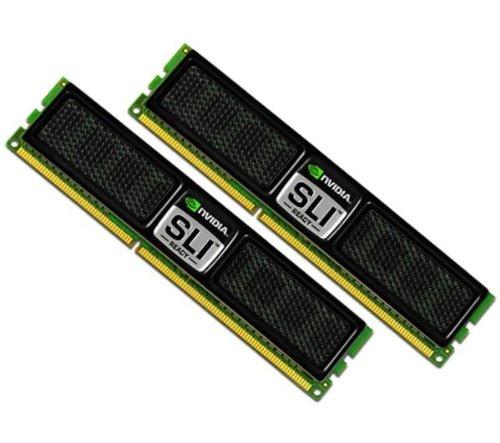 OCZ Nvidia SLI Ready Edition DDR3 PC3-16000 Arbeitsspeicher 2GB Kit (2X 1GB, 2000MHz, CL9)