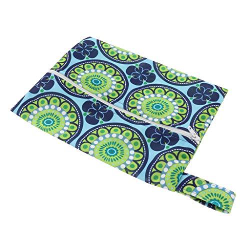 dailymall Wasserdichte Aufbewahrungstasche Damenbinde Lagerung Beutel Damen-Hygieneartikel Tasche, Reißverschluss Design - 06