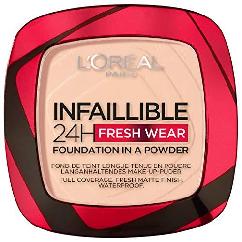L'Oréal Paris Polvos Compactos Mate Infalible 24H, Larga Du