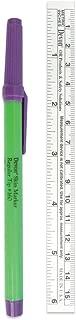 PDC Healthcare Ster-SKM Skin Marking Pen Includes Ruler, Sterile, Gentian, Violet (Pack of 100)