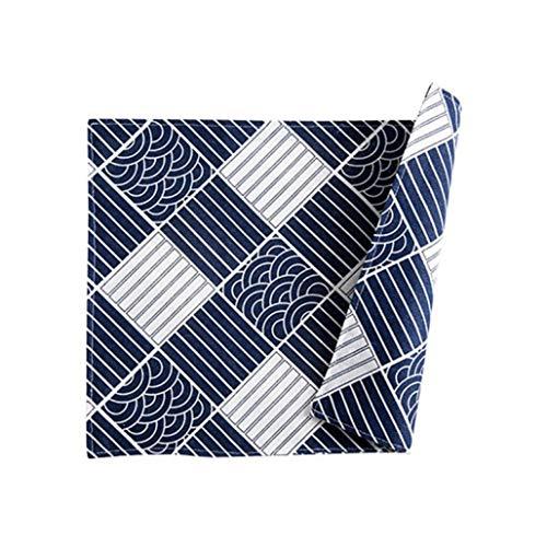 NIKIMI Verbrühschutz-Küchentischsets Totem Pattern Serviette Baumwolle Leinen Doppelschicht Rechteckige Tischsets Dekorativ