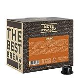 Note d'Espresso - Cápsulas de café para las cafeteras Caffitaly, Barley, 100 unidades de 9,5 g