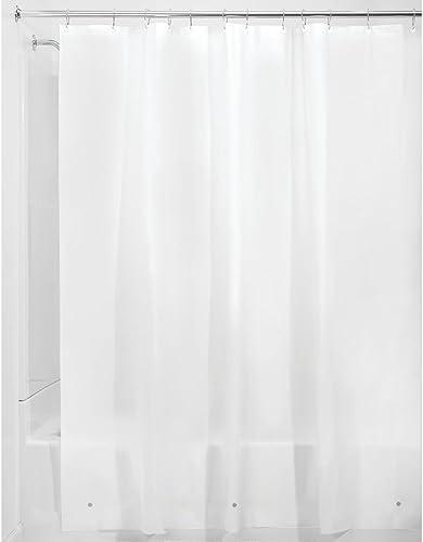 InterDesign Liner Shower Curtain, 183 Cm X 183 Cm, Frost