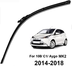 """ASDHASXC Front Wiper Blade,for Toyota Aygo MK2,for Peugeot 108,for Citroen C1 MK2 2014 2015 2016 2017 2018 26"""""""