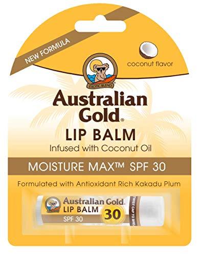 Australian Gold Lip balm blister SPF30, 4.2gm