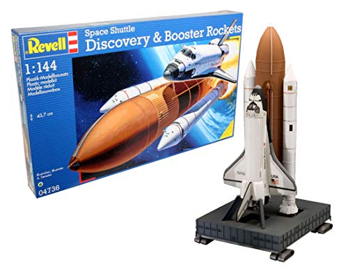 04736 Space Shuttle Discovery & Booster Rockets 1:144