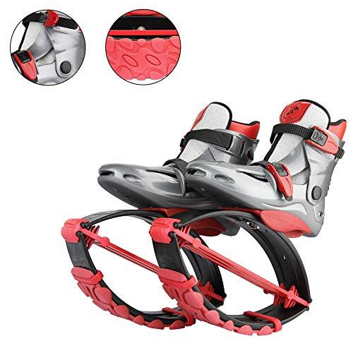 YXMxxm Unisex-Sprungschuhe - Trampolinschuhe für Fitness, Laufen, Basketball,Mehrere Größen - Anti-Schwerkraft-Laufschuhe,Red,XL