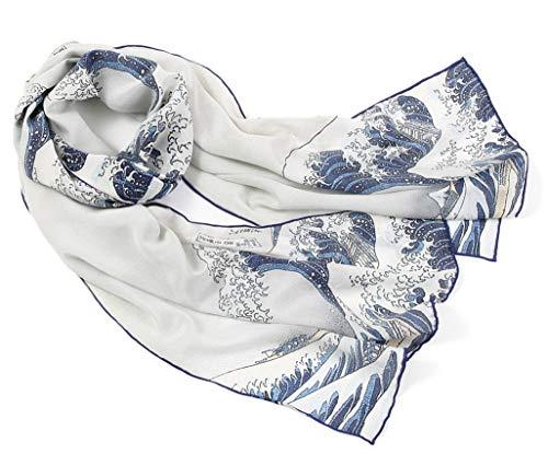 Prettystern art prints Van Gogh schilderij Lange zijden sjaal
