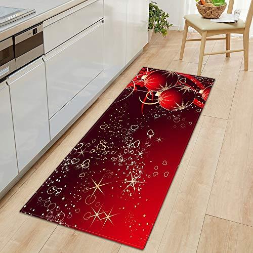 Alfombra para el día de San Valentín, dormitorio, sala de estar, pasillo, entrada, entrada, cocina, tamaño A9, 60 x 180 cm