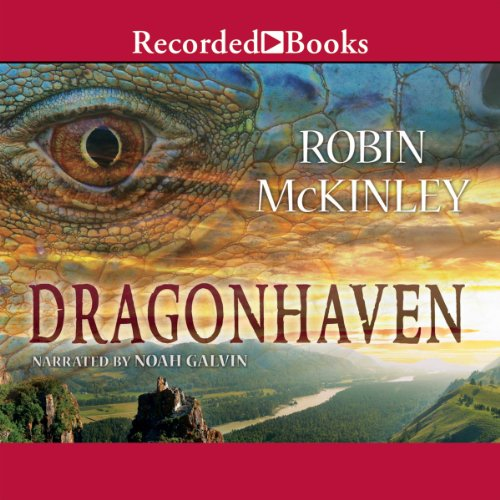 Dragonhaven audiobook cover art