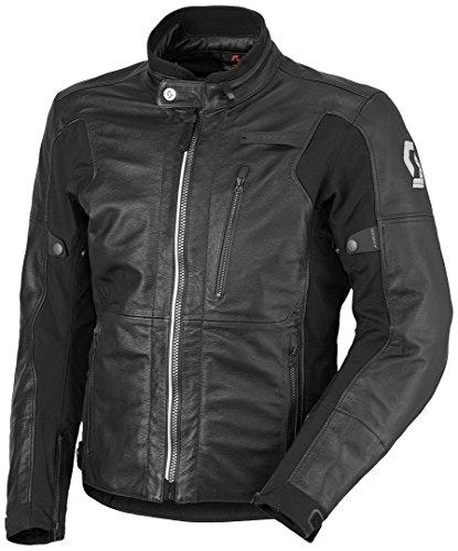 Scott Tourance DP Motorrad Lederjacke 3XL