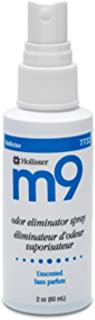 m9 Odor Eliminator Spray, Unscented 2 oz (Pack of 3)