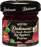 Dickinson's Pure Cascade Mountain Red Raspberry Preserves, 1 Ounce (Pack of 72)