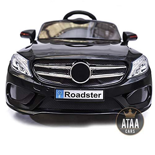 SL Roaster 12v voiture électrique enfants avec télécommande - Noir