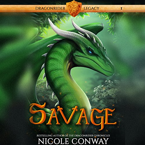 Savage audiobook cover art
