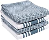 KAF Home Kitchen Towels, Set of 4 Absorbent, Durable and Soft Towels | Perfect for Kitchen Messes and Drying...