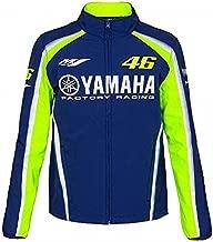 2018 VR46 Valentino Rossi #46 MotoGP Mens Softshell Jacket Yamaha Factory Racing