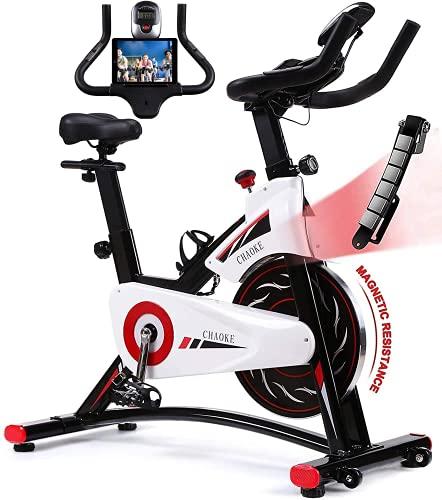 Exercise Bike, CHAOKE Indoor Cycling Bike, Stationary Bike...