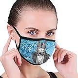 CZLXD - Máscara Antipolvo para Perro piloto, Antipolvo, para Hombre y Mujer