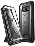 YOUMAKER Kickstand Case for Galaxy S8 Plus, Full Body with...