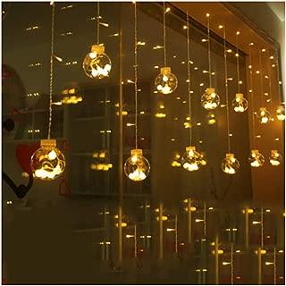 イルミネーション ソーラー ライト 飾り LED ソーラー充電式 ガーデンライト LED ストリングライト 発光モード 夜間自動点灯 屋外 防水 耐熱 クリスマス 新年 結婚式 ボール型 全長暖かい白12ボール