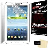 TECHGEAR - Protectores de Pantalla para Samsung Galaxy Tab 3 P3200/P3210 de 7' (5 Unidades, Pantalla LCD)