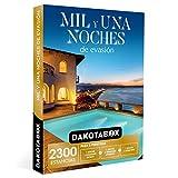 DAKOTABOX - Caja Regalo hombre mujer pareja idea de regalo - Mil y una noches de evasión - 2300 estancias con encanto en hoteles de hasta 4*, casas rurales, palacios y mucho más